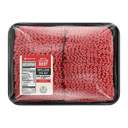 Member's Mark 90% Lean, 10% Fat Ground Beef (priced per pound)