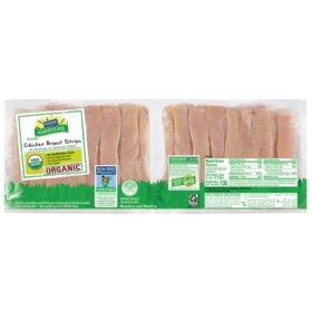 Perdue Harvestland Organic Chicken Breast Strips (priced per pound)