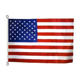 Annin - American Flag 15x25' Tough-Tex with Sewn Stripes and Appliqued Stars