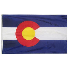 Annin - Colorado State Flag 4x6' Nylon SolarGuard