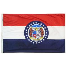 Annin - Missouri state flag 3x5 ft. Nylon SolarGuard