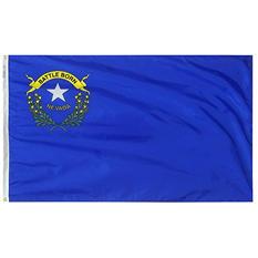 Annin - Nevada state flag 4x6 ft. Nylon SolarGuard