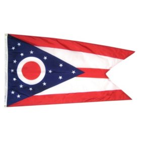 Annin - Ohio state flag 3x5 ft. Nylon SolarGuard