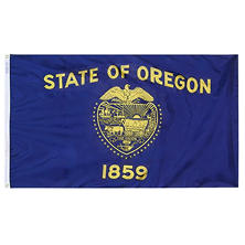 Annin - Oregon state flag 3x5 ft. Nylon SolarGuard