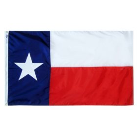 Annin - Texas state flag 3x5 ft. Nylon SolarGuard