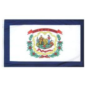 Annin - West Virginia state flag 4x6 ft. Nylon SolarGuard