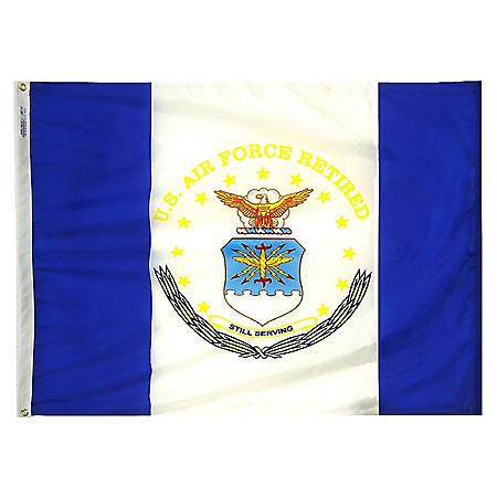 Annin - U.S. Air Force Retired Flag 3x4 ft. Nylon