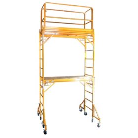 Pro-Series Two Story Interior Rolling Scaffold Tower