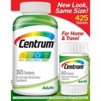 Centrum Adult Multivitamin Tablets (365 ct. + Bonus 60 ct.)