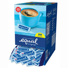 Equal 0 Calorie Sweetener - 800 packets