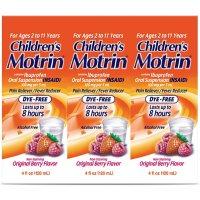 Children's Motrin Oral Suspension (4 oz., 3 pk.)