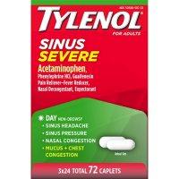 Tylenol Sinus Severe (24 ct., 3pk.)