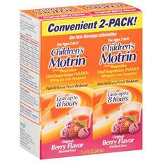 Children's Motrin - Original Berry Flavor - 4 oz. - 2 pk.