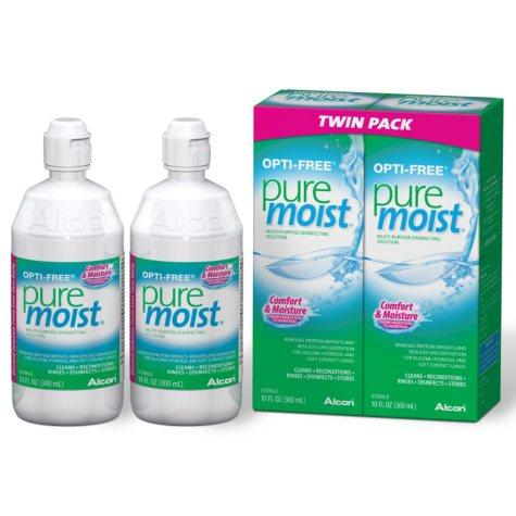 Opti-Free PureMoist Disinfecting Solution - 20 oz.