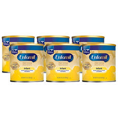 Enfamil Infant Formula Milk Based Powder (12.5 oz., 6 pk.)