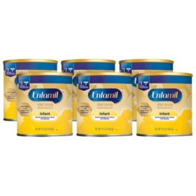 Enfamil Infant Formula Milk-Based Powder (12.5 oz., 6 pk.)