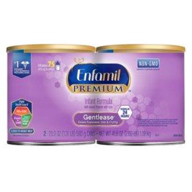 Enfamil Premium Gentlease Infant Formula Powder (20.9 oz., 2 pk.)