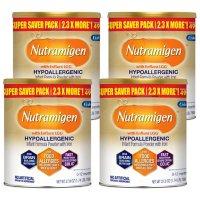 Enfamil Nutramigen Hypoallergenic Infant Formula with Enflora LGG, Powder Can (27.8 oz, 4 pk.)
