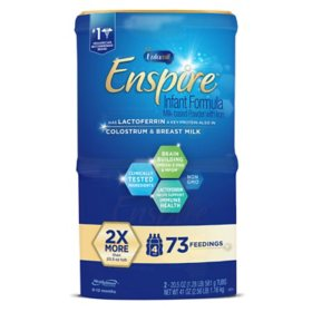 Enfamil Enspire Infant Formula Milk-based Powder with Iron (20.5 oz., 2 pk.)