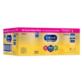 Enfamil NeuroPro Infant Formula Ready-to-Feed Bottles (6 fl. oz., 24 pk.)