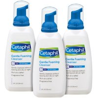 Cetaphil Gentle Foaming Cleanser for Sensitive and All Skin Types (8 oz., 3 pk.)