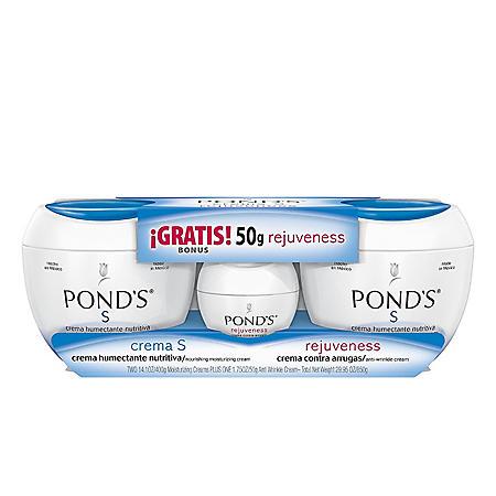POND'S Crema S 2/14.1 oz + 1/1.7 oz