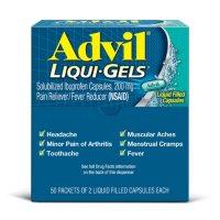 Advil Liqui-Gels 200mg (50 packets)