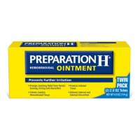 Preparation H Hemorrhoid Symptom Treatment Ointment Itching, Burning and Discomfort Relief (4.0 oz, Twin Pack)