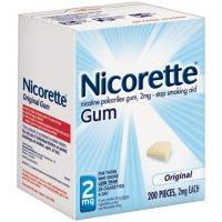 Nicorette 2mg Original Gum (200 ct.)