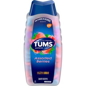 Tums Ultra Strength 1000mg Chewable Tablets, 265 ct.- Assorted Berries