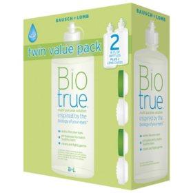 Biotrue Multi-Purpose Solution (16 oz , 2 pk ) - Sam's Club