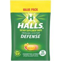 Halls Defense Assorted Citrus Vitamin C Drops Value Pack (180 ct.)