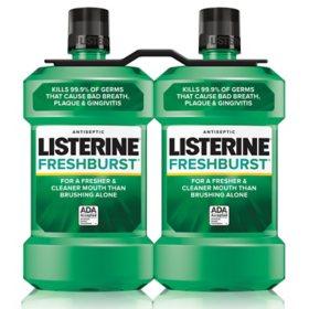 Listerine Freshburst Antiseptic  Mouthwash (1.5L, 2 pk.)