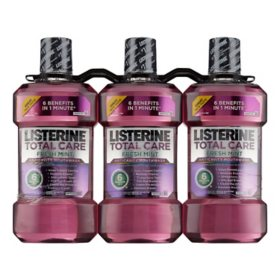 Listerine Total Care Mouthwash, Fresh Mint (3 pk.)