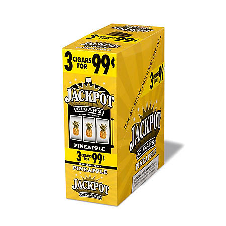 Jackpot Pineapple Cigarillos. 3 for $0.99 (45 ct.)