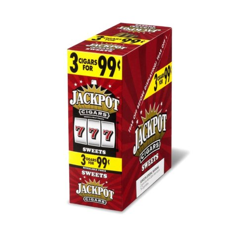 Jackpot Sweet Cigarillos, 3 for $0.99 (45 ct.)