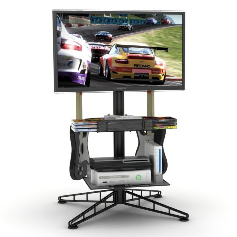 """Spyder TV Gaming Stand for up to 42"""" TV - Black"""