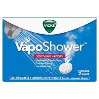 Vicks VapoShower, Shower Tablet, Shower Bomb, Aromatherapy Vapors (9 ct.)