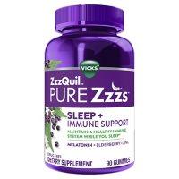 ZzzQuil PURE Zzzs Sleep and Immune Support Melatonin Sleep Aid Gummies (90 ct.)