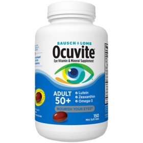 Bausch + Lomb Ocuvite Supplement, Adult 50+ (150 ct.)
