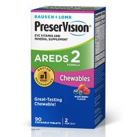 Bausch + Lomb PreserVision Eye Vitamin & Mineral AREDS2 Chewables (90 ct.)