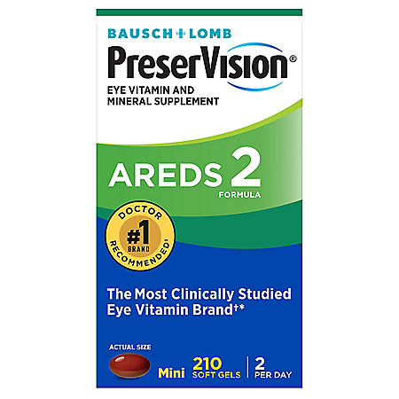 Bausch & Lomb PreserVision AREDS 2 Formula Supplement (210 ct.)
