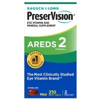 Bausch + Lomb PreserVision AREDS 2 Formula Supplement (210 ct.)