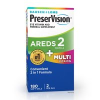 Bausch + Lomb PreserVision AREDS2 Formula + Multivitamin (180 ct.)