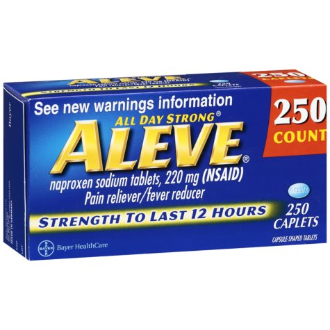 Aleve® Caplets - 220mg - 250 ct.