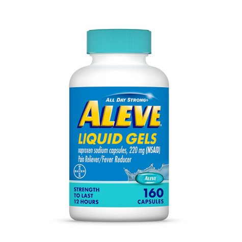 Aleve® Liquid Gels Naproxen Sodium Capsules - 160 ct.