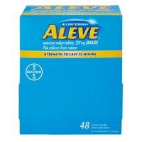 Aleve Naproxen Sodium Tablets, 220mg (48 ct.)