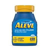 Aleve Naproxen Sodium Caplets, All Day Pain Reliever (320 ct.)
