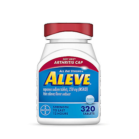 Aleve Pain Reliever Tablets, Arthritis Cap (320 ct.)