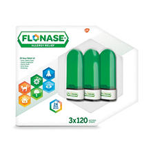 Flonase Allergy Relief Nasal Spray (0.54 fl. oz., 120 Metered Sprays, 3 pk.)